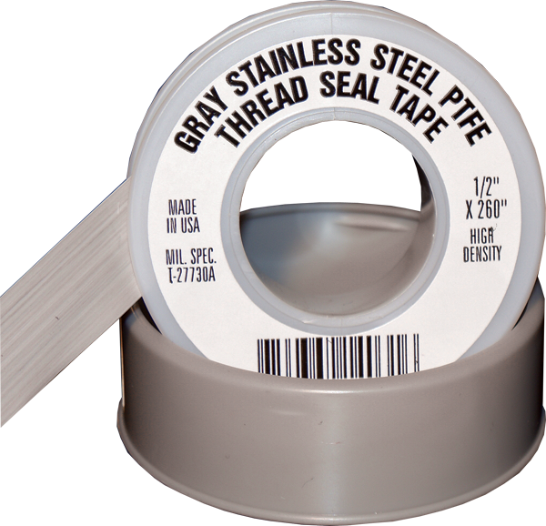 Ptfe thread seal tape gray well flow products