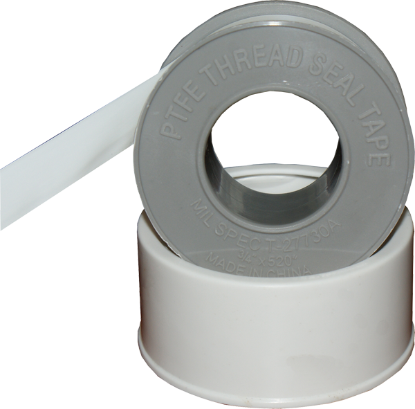 Ptfe thread seal tape white well flow products